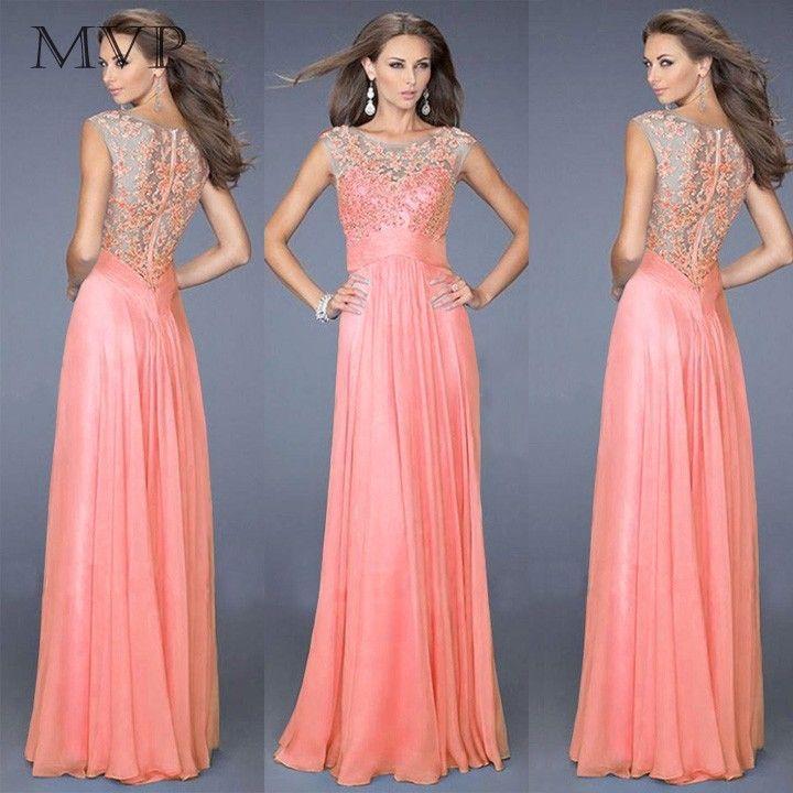 15 best Vestidos elegantes images on Pinterest   Formal dress ...