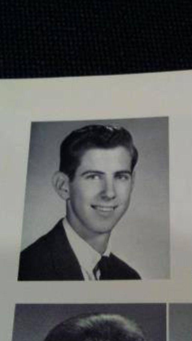 Ric Ocasek's senior picture ❤️