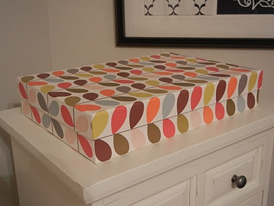 Bonus to buying Orla Kiely bedding.. it comes in these lovely reusable boxes. http://www.se10gallery.com.au/collections/bed #orlakiely #bed #homewares #linen