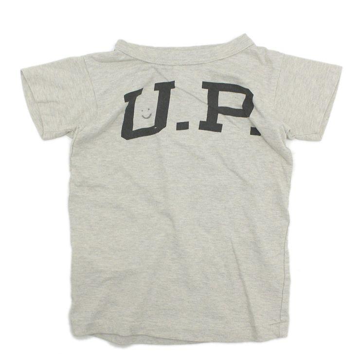 DENIM DUNGAREE(デニム&ダンガリー):テンジク フットボールTシャツ 9KHカーキ の通販【ブランド子供服のミリバール】