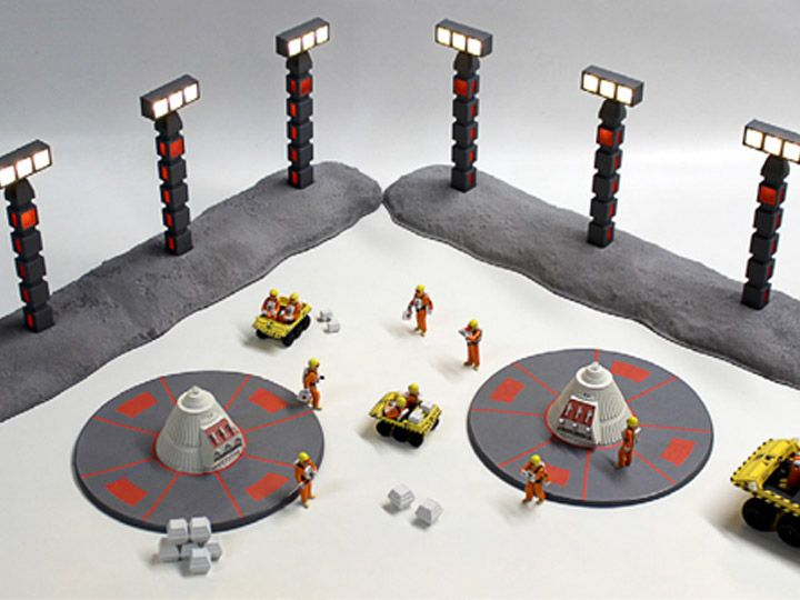 #transformer Space: 1999 Nuclear Waste Disposal Area 2 1/48 Scale Model Kit