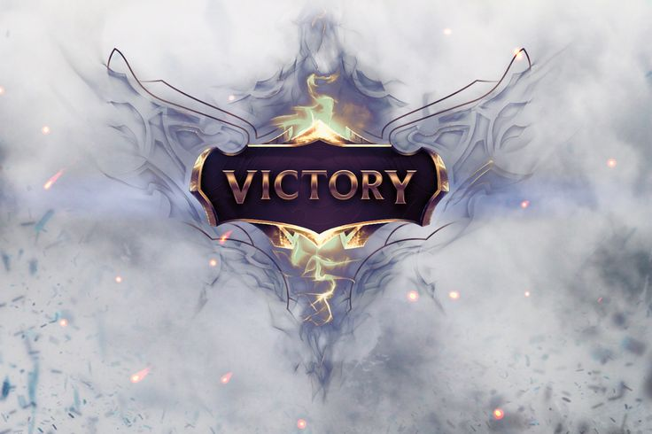 Vídeo Game League Of Legends  Victory Photoshop Papel de Parede