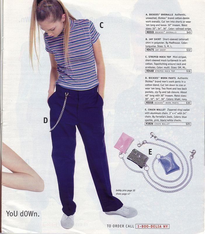 <b>Blue lipstick, Dickies pants, and chunky platforms!</b> Someone has put up magical scans and you need to see them.