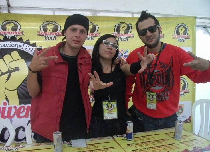 Rueda de prensa concierto CONVIVENCIA ROCK, Pereira / Colombia ✌️