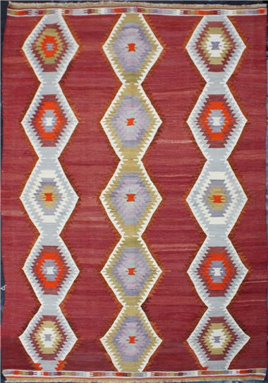 Turkish kilims are hand woven and made with great care and hence are very well known and loved in many parts of the world. Cultural, environmental, religious, socioeconomic and sociopolitical conditions led to the production of kilim rugs in ancient Turkey.