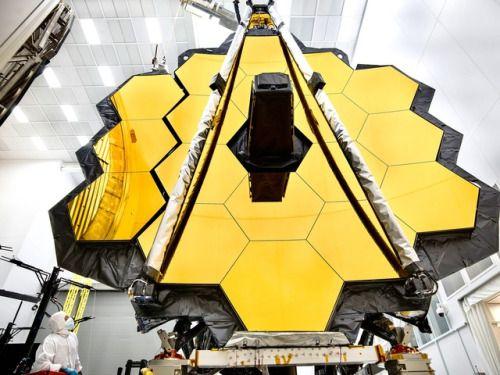 James Webb Space Telescope Primary Mirror Prepared for Testing...  James Webb Space Telescope Primary Mirror Prepared for Testing at Johnson Space Center via NASA https://go.nasa.gov/2rmS1PM  URL: http://bit.ly/2qt41jl Managed by: IKAHANA http://bit.ly/2pL8aPu