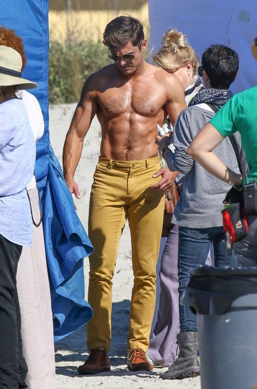 This Will Be The Final Time You'll See Zac Efron's Shirtless Body