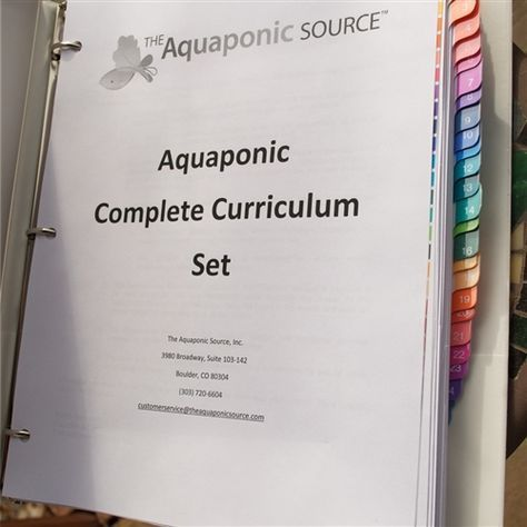 Aquaponics Complete Curriculum Set