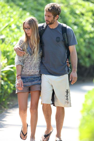 jasmine pilchard gosnell and paul walker | Jasmine Pilchard-Gosnell was the latest girlfriend of Paul Walker, who ...