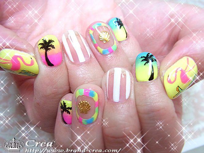 Summer Nails    See more nail designs at http://www.nailsss.com/nail-styles-2014/