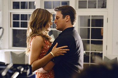 Kate Beckett and Richard Castle (Stana Katic and Nathan Fillion) #Castle