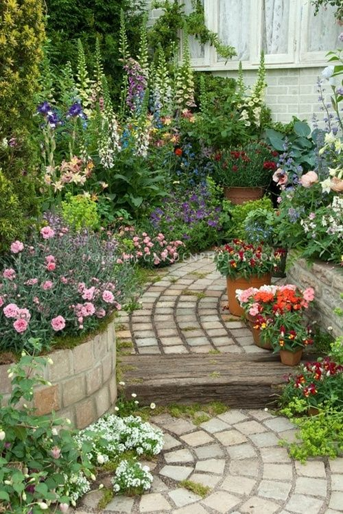 vegetable and flower edging ideas (11)