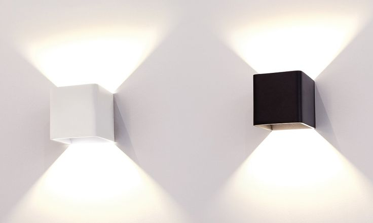 TOURMALINE Modern LED Up And Down Black Interior Wall