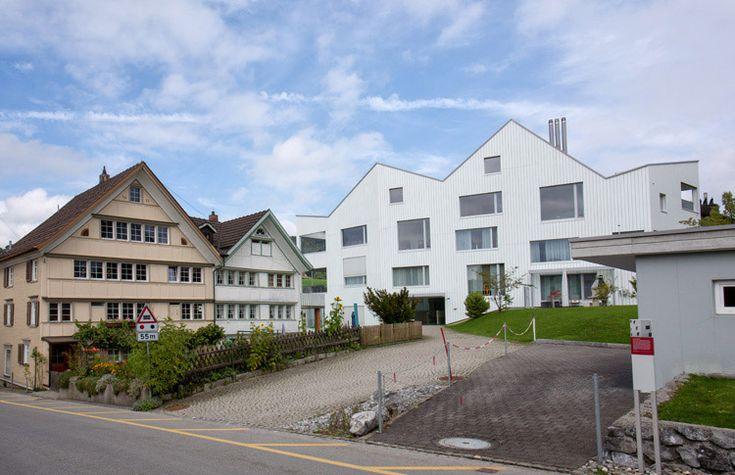 Haus E17 Metzingen Germany 2012: Forum Appenzellerhaus