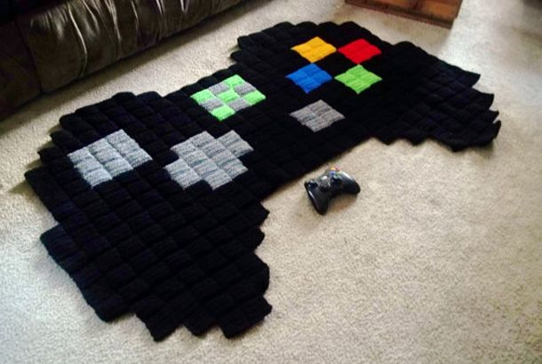 Video Game Controller Rug