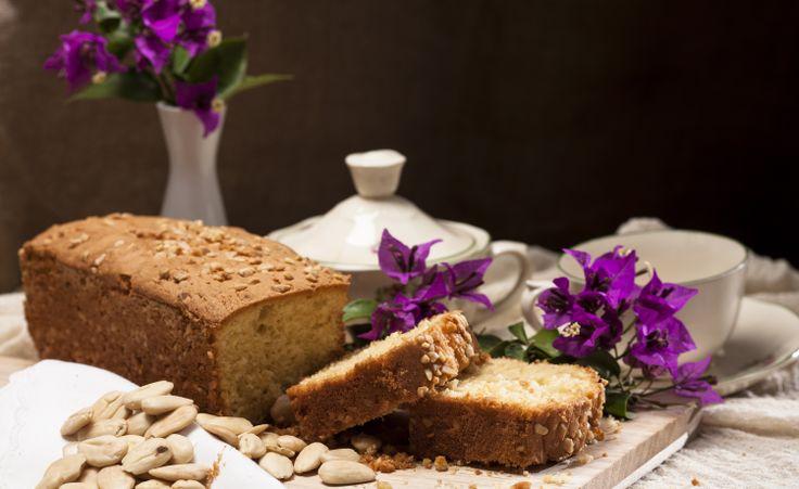 Almond cake from Afoi Asimakopouloi, Athens, Greece http://asimakopouloi.com/