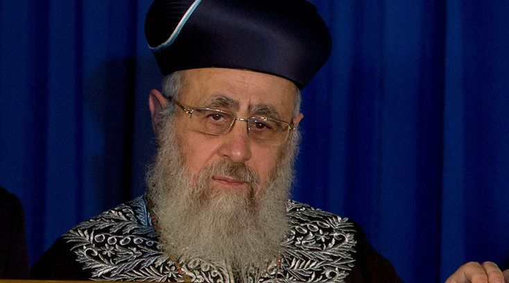 "Sephardic Chief Rabbi Yitzhak Yosef has faced a public backlash after saying that according to Jewish law some non-Jews should be forbidden to live in Israel.     ""According to Jewish law, it's forbidden for a non-Jew to live in the Land of Israel – unless he has accepted the seven Noahide laws,"" Rabbi Yosef said during his weekly Saturday lecture on March 26. Non-Jews who fail to live by the seven Noahide laws should be expelled to Saudi Arabia, he added. ""If he's not willing to accept one…"