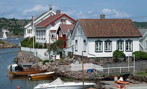 Lyngør Port, Norway -