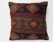 kilim pillow 24x24 large cushion cover large outdoor pillow extra large pillow bohemian pillow sham modern throw pillow bohemian rugs 24881