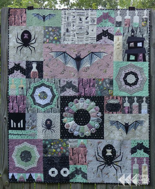 My Finished Epic Halloween Quilt | Flying Parrot Quilts | Bloglovin'