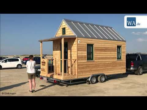 hammer h user bei tchibo schreinerei fertigt tiny houses youtube tiny haus in 2019 haus. Black Bedroom Furniture Sets. Home Design Ideas