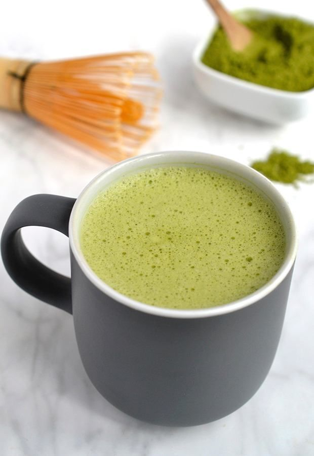 Healthier Starbucks Holiday Drinks: Vegan Matcha Latte