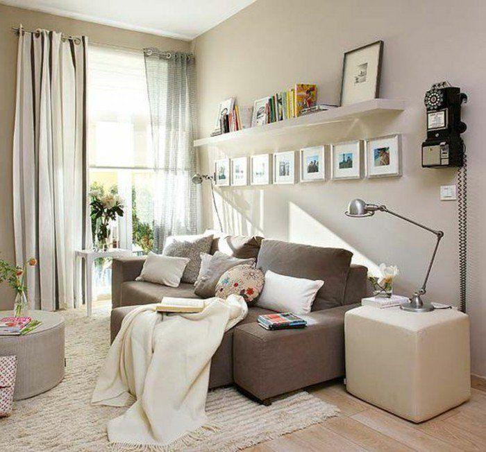 Best 25 amenager petit salon ideas on pinterest bureau studio d cor and c - Amenagement petit salon ...