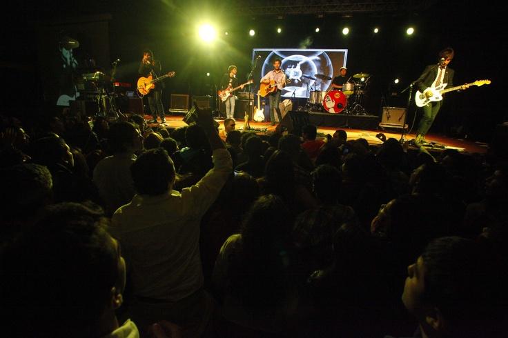 El 18 de septiembre se celebró con todo en enjoy Coquimbo con el concierto de Los Bunkers