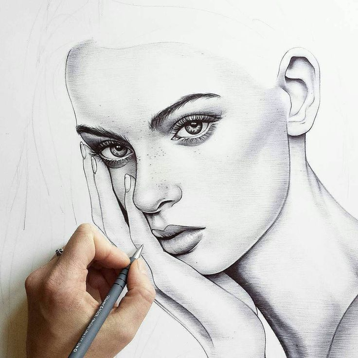 WANT A SHOUTOUT ?   CLICK LINK IN MY PROFILE !!!    Tag  #DRKYSELA   Repost from @hoveyeyres   Making progress on my latest ballpoint pen drawing! Who else hates drawing hands??  via http://instagram.com/zbynekkysela