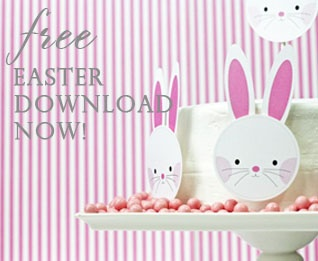 great party ideas (Easter downloads, too)