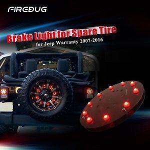 Firebug Jeep Wrangler 3rd Brake Light, Spare Tire LED Light, JEEP JK Accessories
