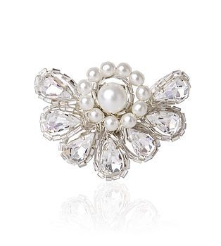 Art Deco Diamante & Pearl Shoe Clips  What a fabulous idea, can go with any shoes you like!
