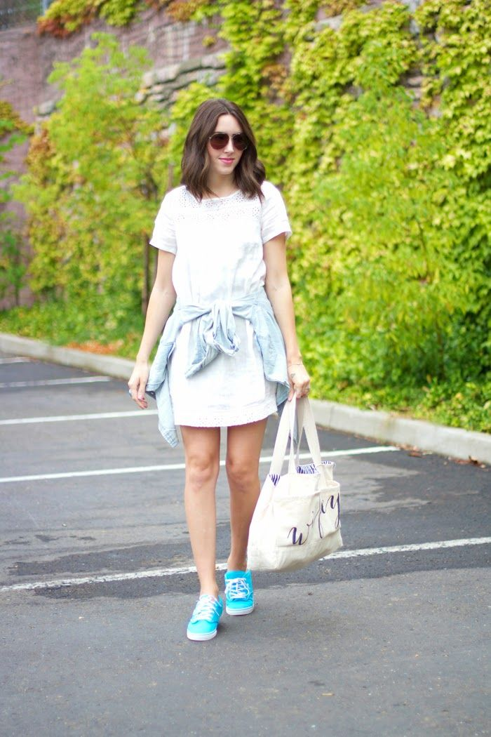 DSW Shoe Hookup- Back to Class: Bright Sneakers