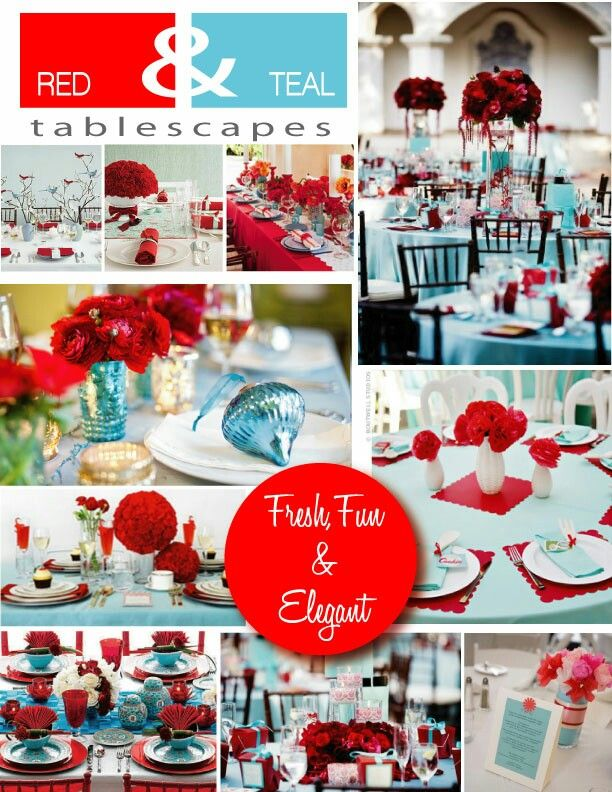 39 Best Red Teal Wedding Images On Pinterest Stuff And Colors