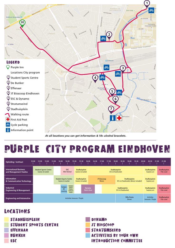 #cityprogram #eindhoven #fontys #denkgroter #purple #intro