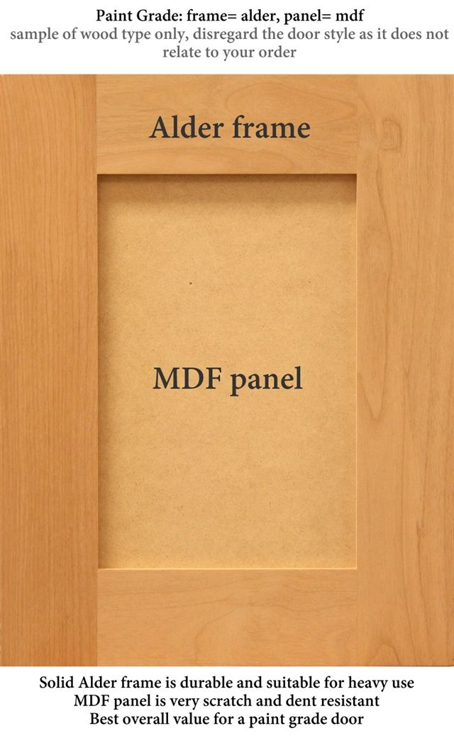 1 Door Pantry Tall Cabinet Shaker Cabinet Doors