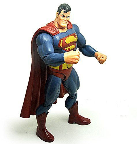 7 18 CM. Superman Superheroes Old Superman PVC Action Figure Packed in Bag @ niftywarehouse.com #NiftyWarehouse #Superman #DC #Comics #ComicBooks