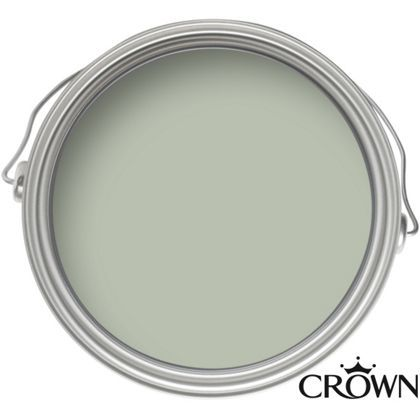 Crown Easyclean Breatheasy Mellow Green - Matt Emulsion Paint - 2.5L