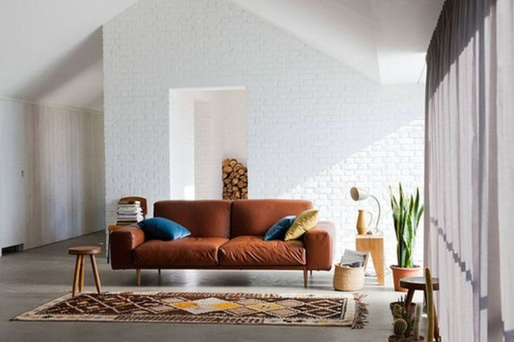 53 adorable burnt orange and teal living room ideas in