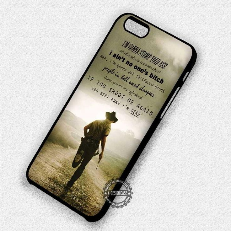 The Quote of Death The Walking Dead - iPhone 7 6 5 SE Cases & Covers #movie #thewalkingdead #quote #iphonecase #phonecase #phonecover #iphone7case #iphone7 #iphone6case #iphone6 #iphone5 #iphone5case #iphone4 #iphone4case