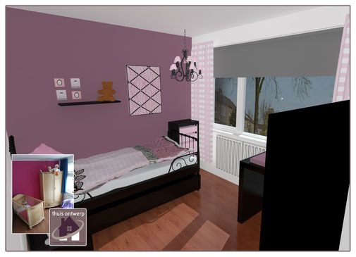 25 beste idee n over meisjeskamer ontwerp op pinterest slaapkamers voor kleine meisjes - Bebe ontwerp ...