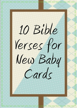 Superior Bible Verses For Baby Shower Card