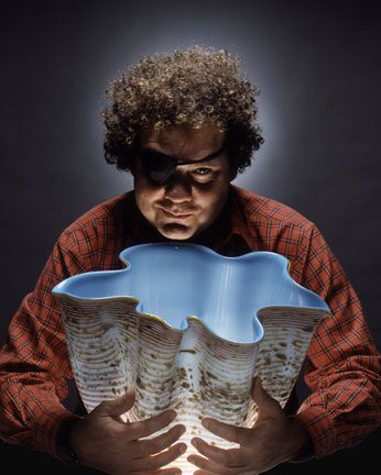 Dale Chihuly (born September 20, 1941, Tacoma, Washington), is an American glass sculptor and entrepreneur.