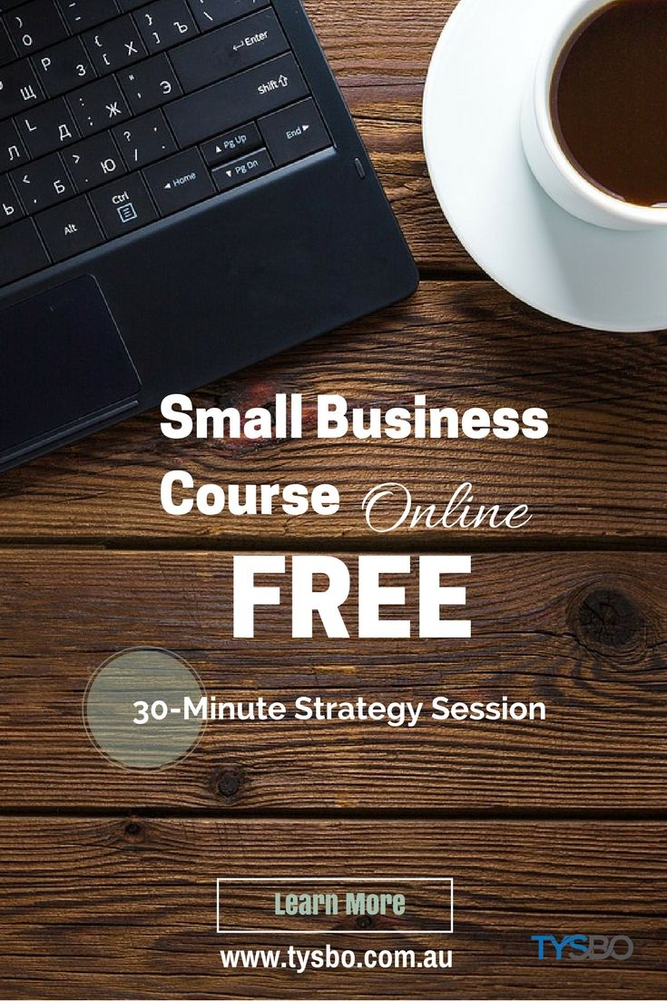 Build a Strong Foundation for your Small Business. Register for a FREE Small Business Strategy Session.