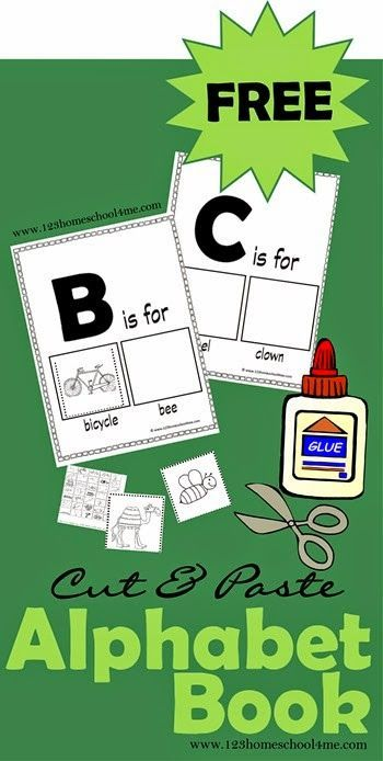 Kids will love making one of these FREE Alphabet mini books as they learn about letters, enrich their vocabulary, and practice fine motor skills.