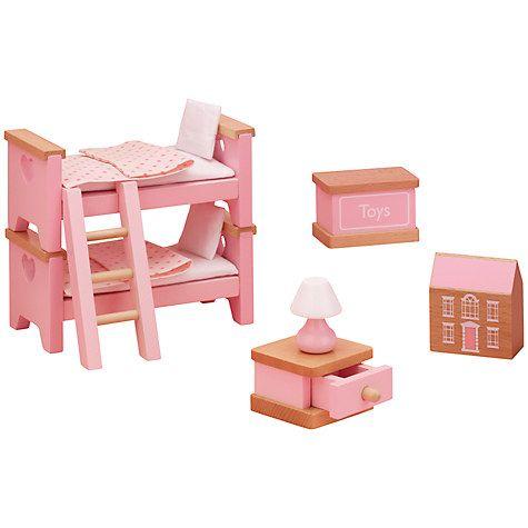 John Lewis Doll's House Accessories, Children's Bedroom Furniture £15