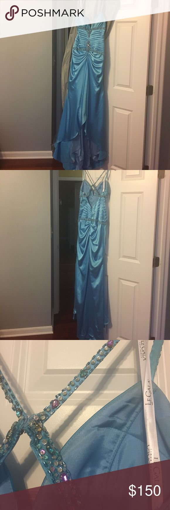 Tony Bowls Le Gala Prom Dress GORGEOUS GORGEOUS GORGEOUS!!!! High to low front, perfect beading. Tony Bowls Dresses Prom