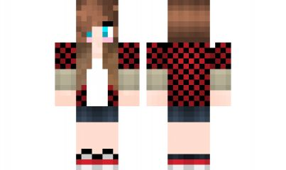 minecraft skin BajanCanadian-Girl Find it with our new ...
