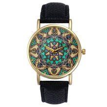 Retro Totem Dial Watches Women Dress Analog Wristwatch Clock Relogio Feminino Women's Casual Sports Watches Men Quartz Watch #JO(China (Mainland))