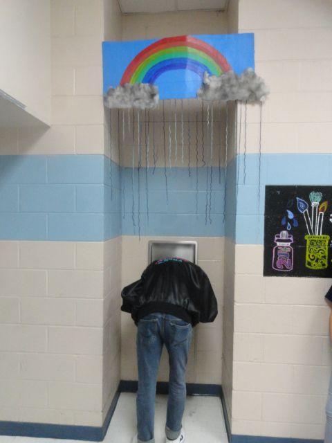 art of south brunswick high school, southport, nc, ian sands, art teacher